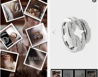 Damiani: l'app ufficiale per rimanere sempre connessi col mondo dei gioielli