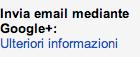 opzione gmail google plus