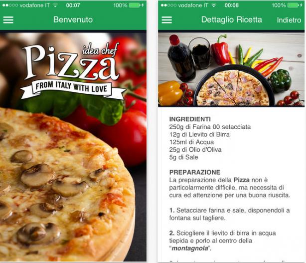 pizza iphone