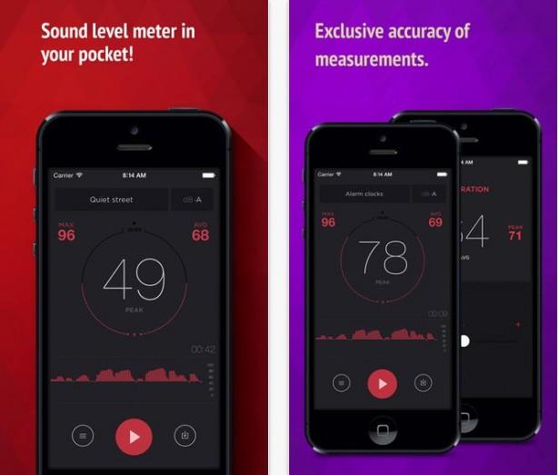 dB meter fonometro iPhone pic0