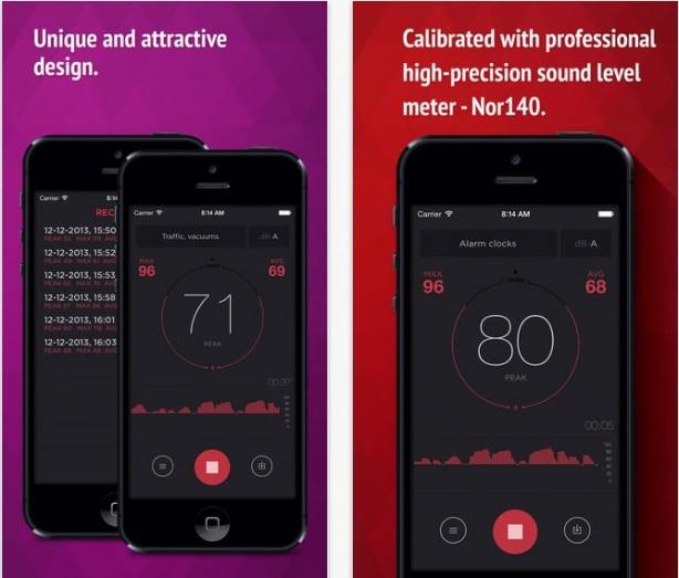 dB Meter iPhone pic1
