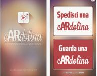 cARdolina: l'app che grazie alla Realtà Aumentata permette di associare ad una cartolina un videomessaggio nascosto