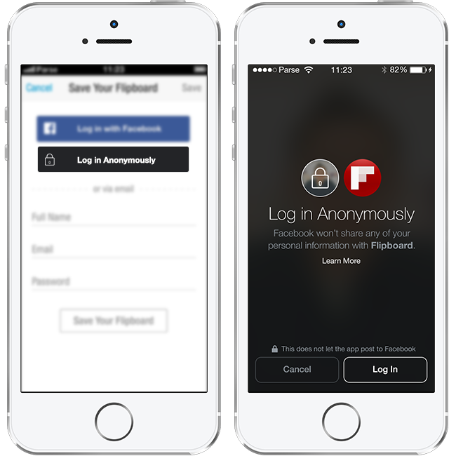 Facebook mobile login iphone