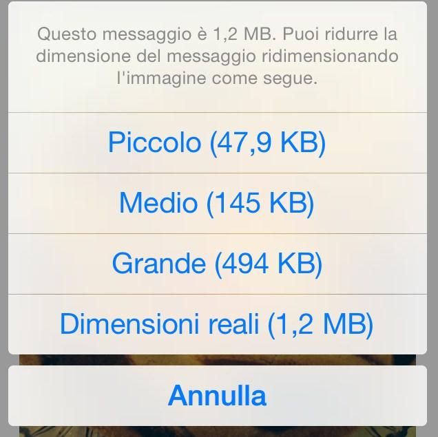 Come Ridurre Il Peso Delle Immagini Su Iphone Grazie A Mail