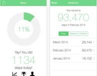 Stepr: app fitness per iPhone 5s con supporto al coprocessore M7 e Game Center