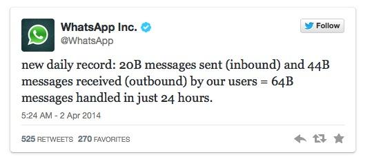 Whatsapp messenger whatsapp inc categoria social network