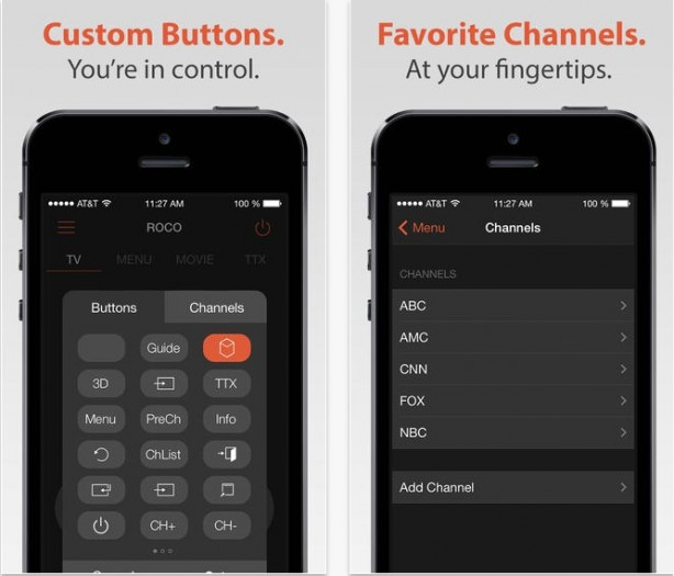 roco: usare l'iphone come telecomando per la tua samsung smart tv