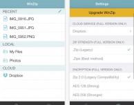 Tante nuove funzioni per l'app WinZip
