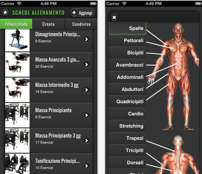 Fitnessitaly un 39 app per tenere a portata di mano la - Strumenti palestra in casa ...