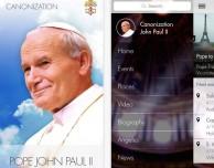 Ecco le app ufficiali dedicate a Papa Giovanni Paolo II e Giovanni XXIII