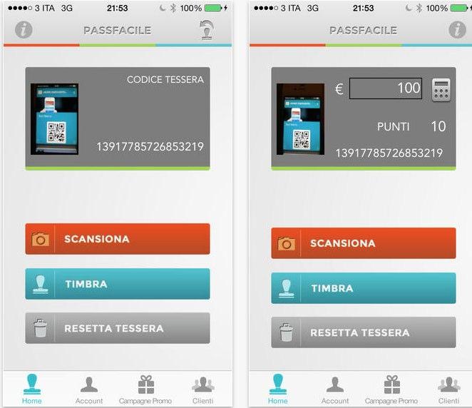 passfacile ecco un 39 app servizio utile per commercianti e clienti iphone italia. Black Bedroom Furniture Sets. Home Design Ideas