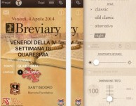 iBreviary 4.0 disponibile su App Store in tempo per la Settimana Santa