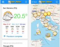 Linea Meteo Live, un'app meteo gratuita in collaborazione con Lineameteo.it