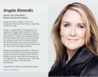 Apple presenta ufficialmente Angela Ahrendts, nuova responsabile Retail dell'azienda