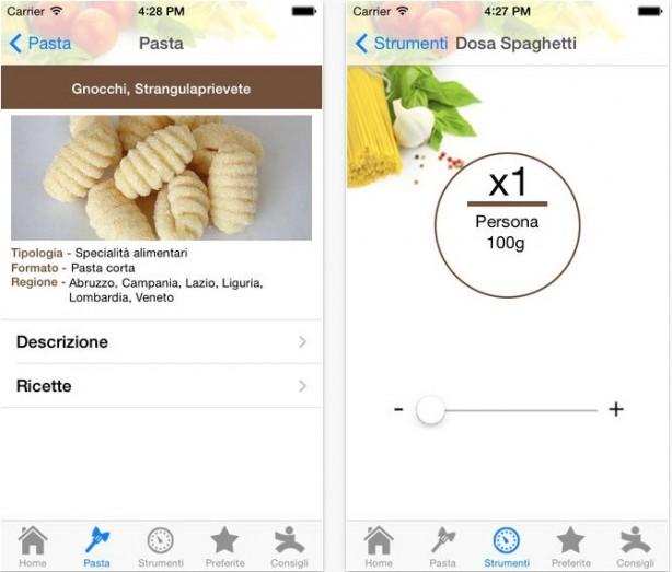 La pasta iPhone pic1