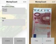 MoneyCount: scatta una foto alle banconote e l'app effettua la somma