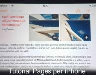 Video Tutorial Pages per iPhone – Puntata 1 (Introduzione)