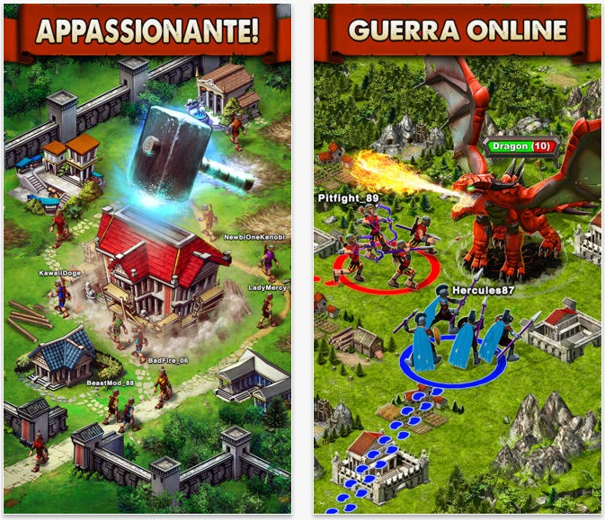 costruisci il tuo impero in game of war fire age On giochi costruisci il tuo impero