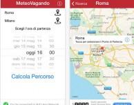 MeteoVagando, l'app che ti mostra il meteo dei tuoi viaggi in auto