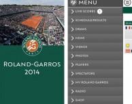RolandGarros: l'app ufficiale del torneo francese di tennis più seguito
