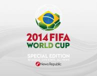 """News Republic, live l'edizione speciale sui Mondiali di Calcio: """"Brasile 2014""""!"""