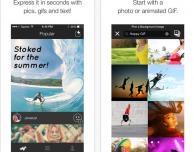 Sparks: esprimetevi in pochi secondi con foto, GIF e testi