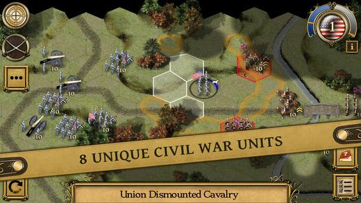 Civil War- 1864 iPhone pic0
