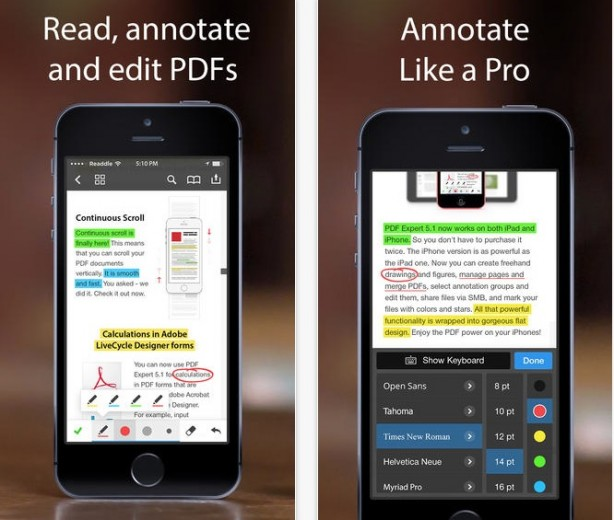 PDF Expert 5 iPhone pic0