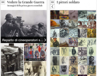 Vedere la Grande Guerra: testimonianze, foto, cartoline, ecc riguardanti la Prima guerra mondiale
