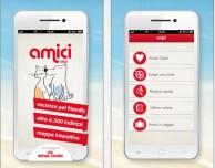 Con l'app Amici scopri tutte le strutture e i servizi per gli amici a quattro zampe
