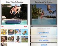 Inverti i tuoi video in Slo-mo con Reverser