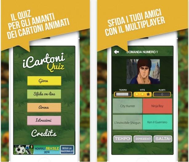 Arriva il multiplayer in icartoni quiz iphone italia