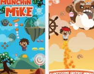 "Munchin' Mike: un ""jumping game"" molto goloso!"