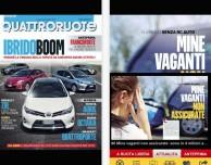 Quattroruote per iPhone: la rivista più importante di automobilismo direttamente a portata di touch