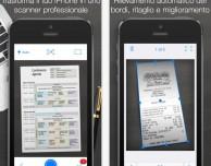iScanner: ottima app scanner per iPhone, gratuita per poche ore