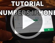 Video Tutorial Numbers iPhone – Puntata 5