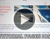 Video Tutorial Pages per iPhone – Puntata 5 (Condivisione, Esportazione e Stampa)