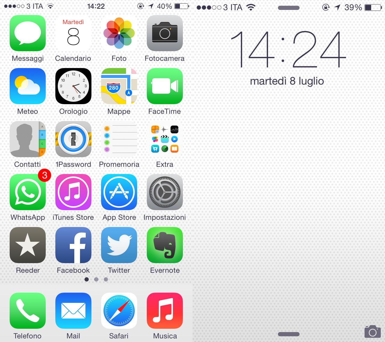 Scarica Il Nuovo Sfondo Di Ios 8 Beta 3 Iphone Italia