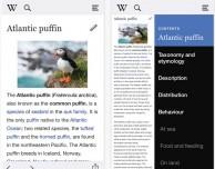L'applicazione ufficiale di Wikipedia si rinnova con un nuovo aggiornamento