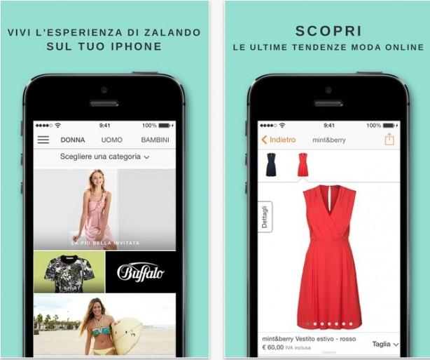 new product 20d3d 05205 Zalando lancia la sua app in Italia - iPhone Italia
