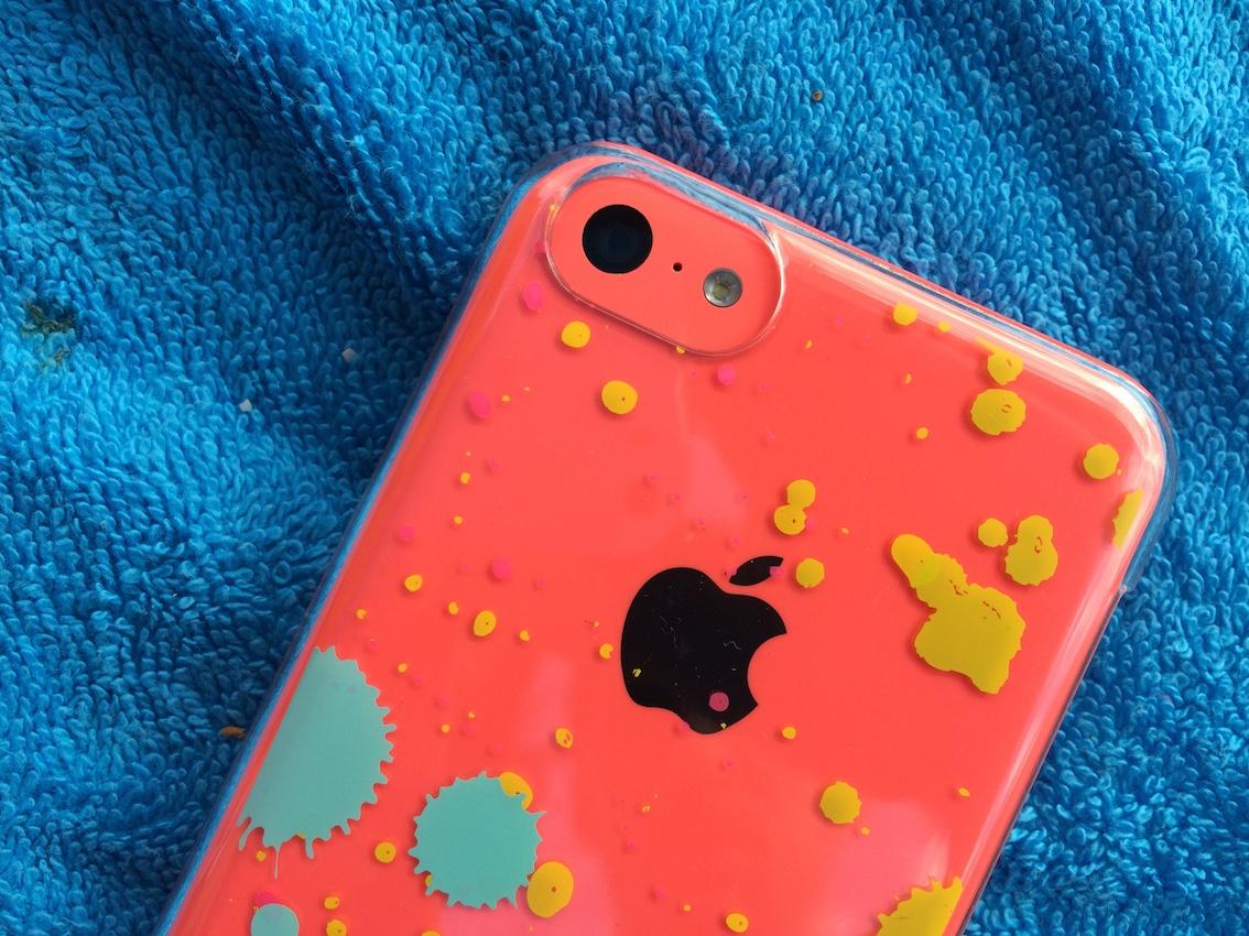 custodia iphone colorata