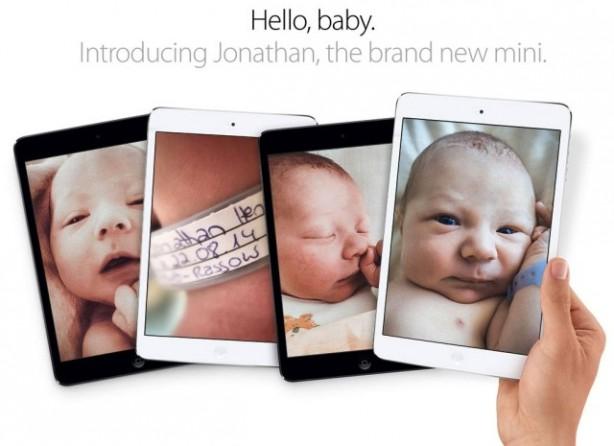 Ecco come un dipendente Apple ha annunciato la nascita di suo figlio
