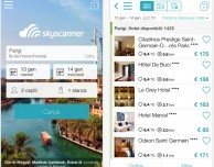 Confronta alberghi e prezzi con la nuova app di Skyscanner Hotel