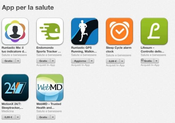 App Per La Salute La Nuova Sezione Delle App Compatibile Con Healthkit Iphone Italia