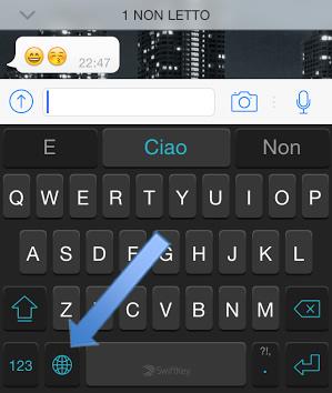 Tastiera SwiftKey iPhone pic1