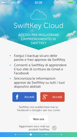 Tastiera SwiftKey iPhone pic2