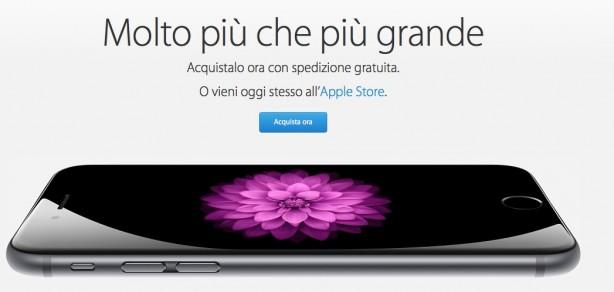 iphone 6 italia