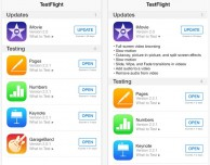 Apple rilascia l'applicazione TestFlight