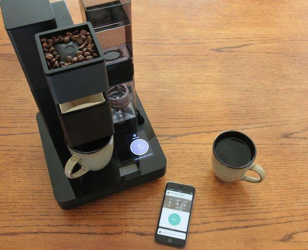 Bruvelo, la macchina da caffè intelligente con connessione ad iPhone via wifi