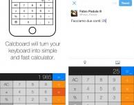 Calcboard: la tastiera diventa una calcolatrice
